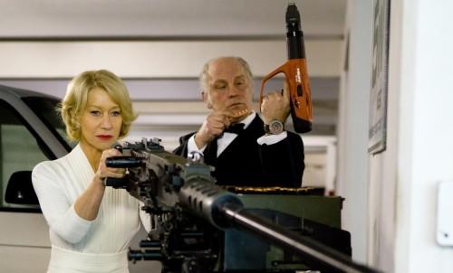 RED - Helen Mirren and a Giant Gun
