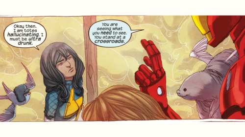 Ms Marvel Hallucinating