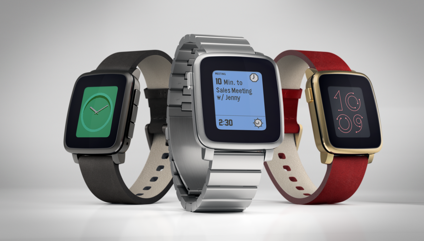 Image of Pebble Time Steel Smartwatch