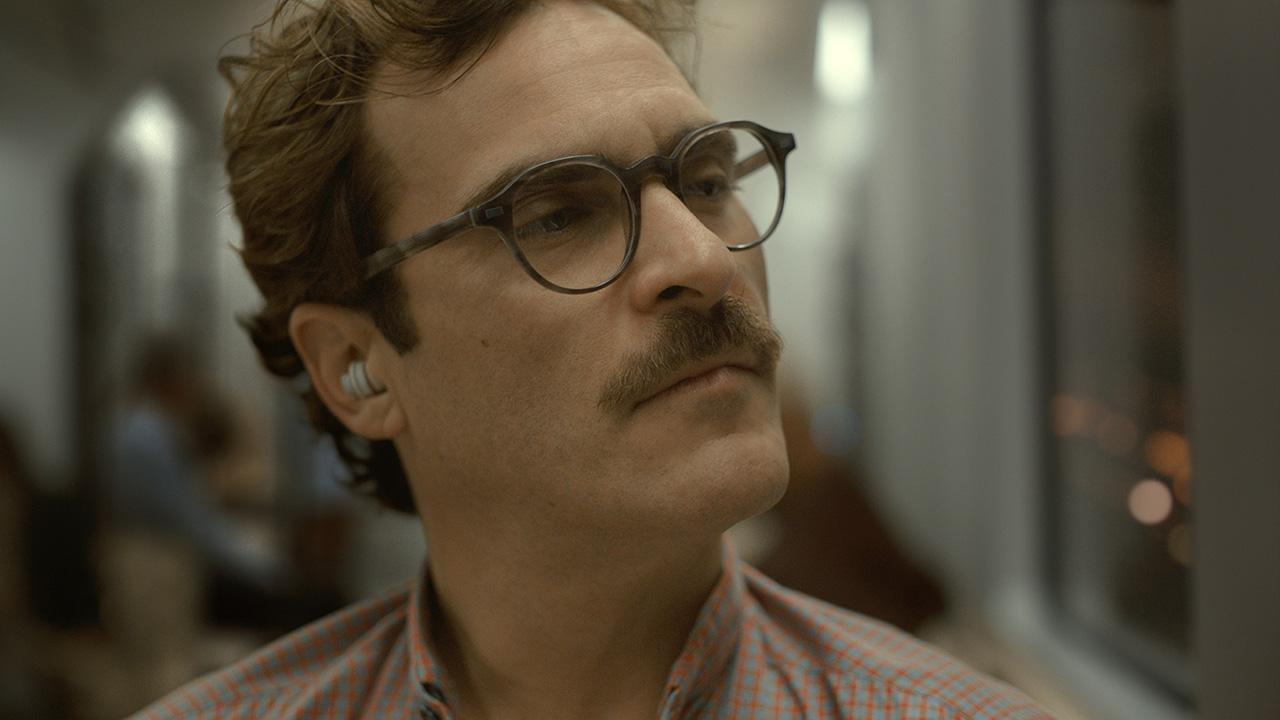 "Joaquin Phoenix from the Movie ""Her"""